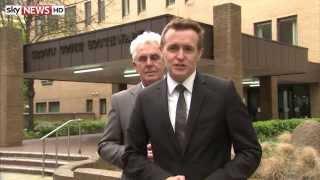 Max Clifford Creeps Up On Sky News Correspondent Tom Parmenter