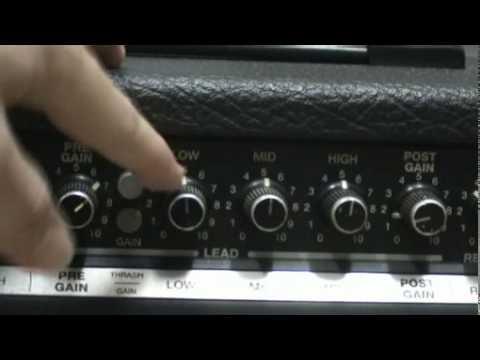 PEAVEY EXPRESS112 AMP DRIVE SOUND DEMO.wmv
