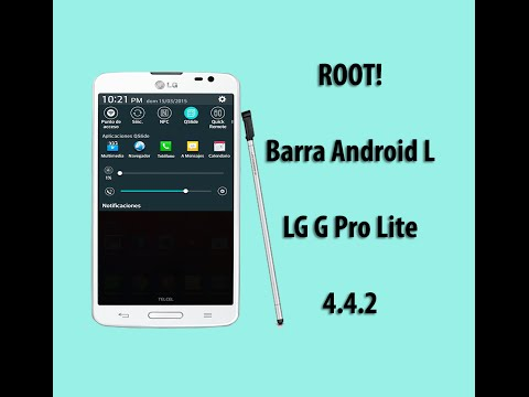LG G Pro Lite Nueva Barra de Estado Android L [ Android 4.4.2 ]