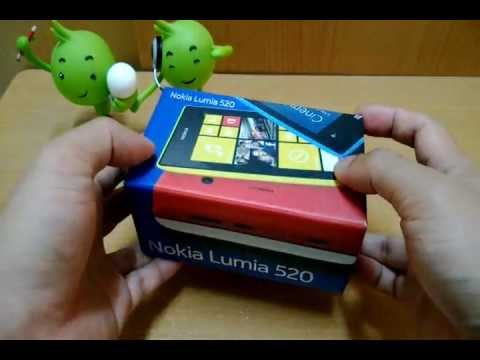 Appdisqus Review : แกะกล่อง Nokia Lumia 520