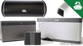 Best Bluetooth Speakers of 2014!