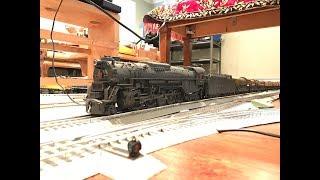 MTH O Scale Premier Pennsylvania Railroad J1 2-10-4 Steam Locomotive #6170 w/ Protosound 2.0