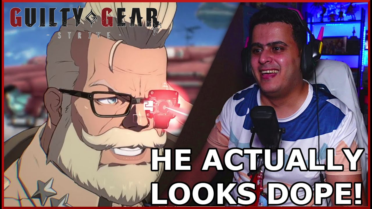 HE ACTUALLY LOOKS DOPE!   GGSTRIVE GOLDLEWIS DICKINSON TRAILER REACTION