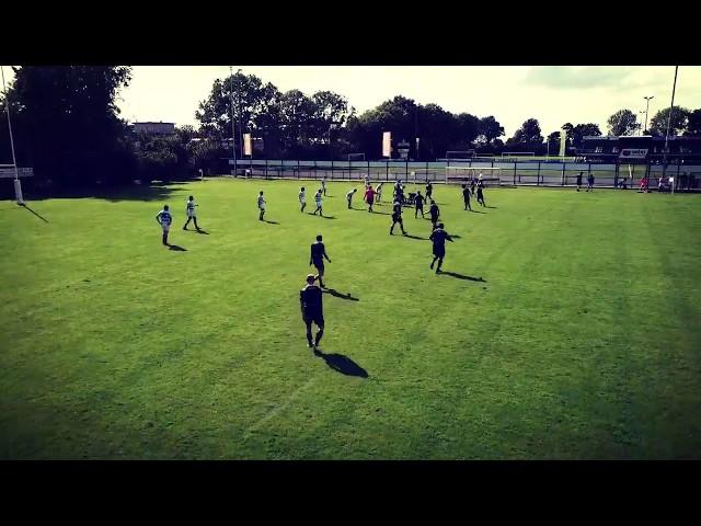 RC Spakenburg 1 - Gouda 1 - Oefenwedstrijd