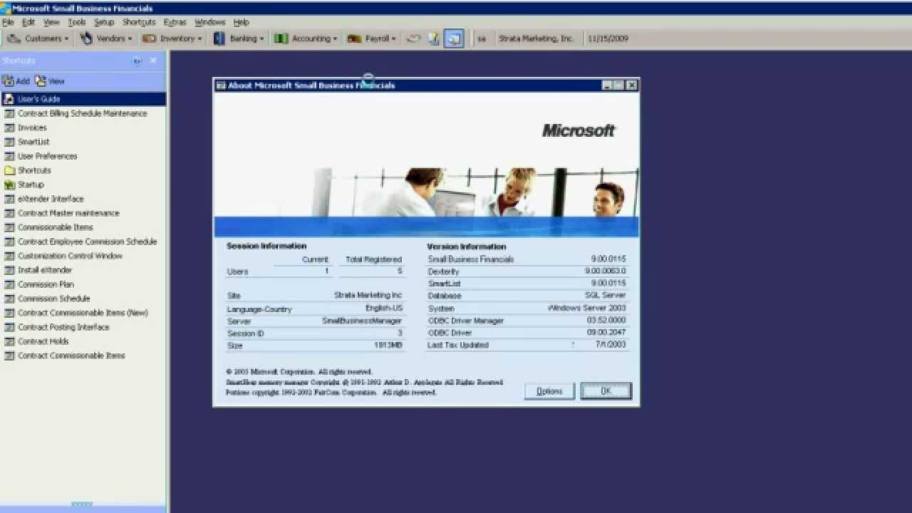 microsoft small business financials migration to gp youtube