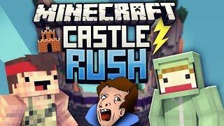 BENUTZ' DEIN GEHIRN! - Minecraft CASTLE RUSH VS Rewi #05 | ungespielt
