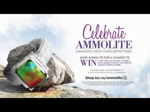 Celebrate Ammolite, Canada's Very Own Gemstone!