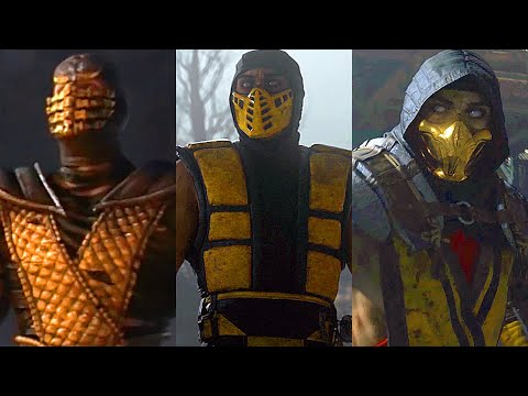 Mortal Kombat MOVIE Complete Saga 9, 10 & 11 All Cutscenes Full Story (MK11)
