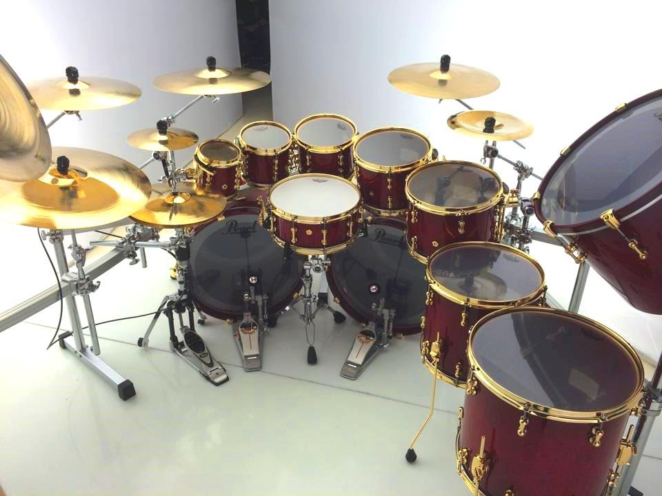 latin groove chops drum solo on pearl masterworks by jeff wald youtube. Black Bedroom Furniture Sets. Home Design Ideas