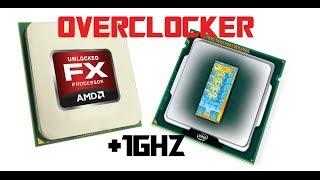TUTO : Overclocker son processeur / CPU Facilement et gagnez 1GHZ AMD INTEL