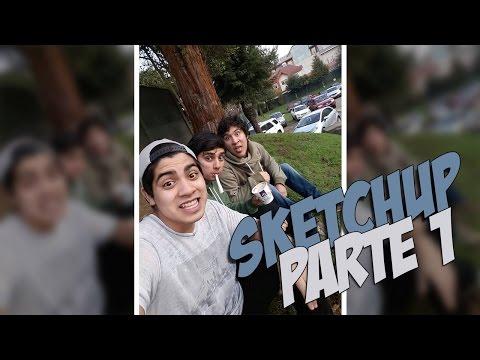 SKETCHup | PARTE 1 | GASTROENTERITIS AWEONAO |  SKETCH CHILENOS