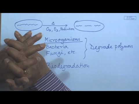Mod-01 Lec-30 lecture-30-Environmental Degradation of Polymers