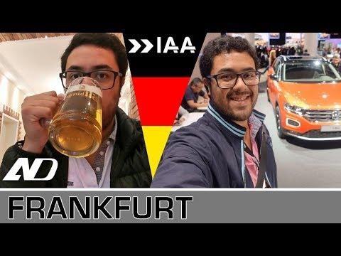 Frankfurt. Autos alemanes, salchicha y cerveza - Vlog
