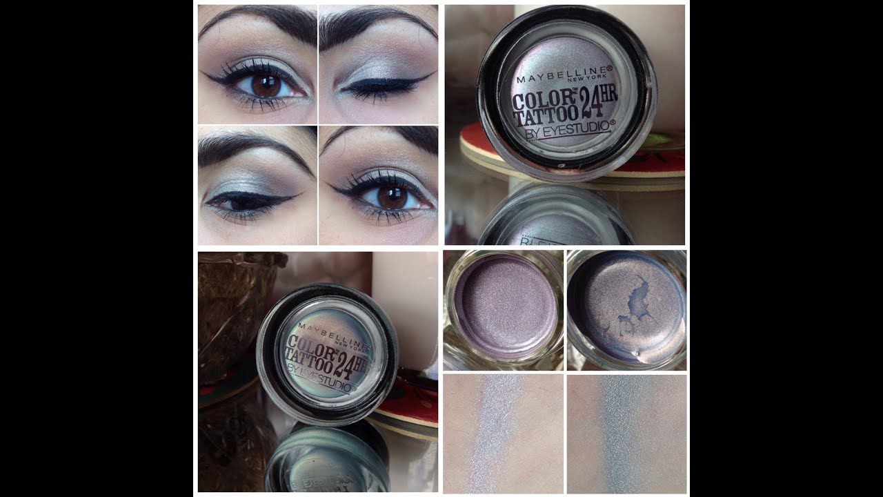 Maybelline Summer 2014 Color Tattoos Shimmering Sea and Sunwashed ...
