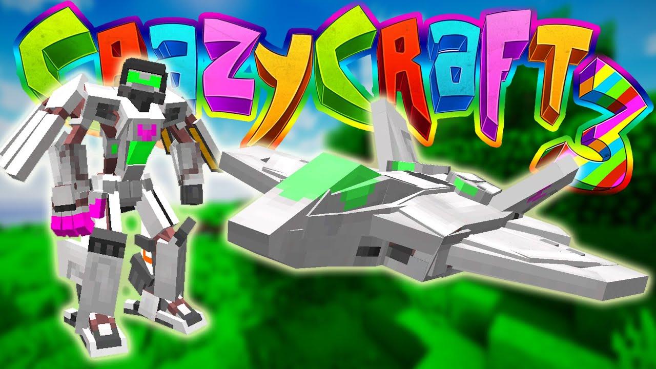 Minecraft Crazy Craft 3 New Transformer Transformers Mod