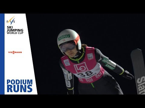 Sara Takanashi | Ladies' Normal Hill | Lillehammer | 3rd place | FIS Ski Jumping
