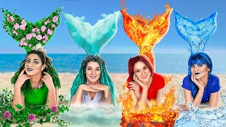 Download lagu Fire, Water, Air, and Earth Mermaids! / Four Elements at College!