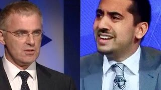 Mehdi Hasan of the Huffington Post & Daniel Taub - Israeli Amb to UK - on Current Situation In Gaza