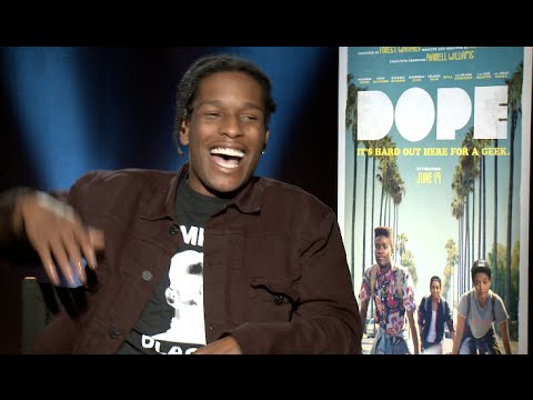 ASAP ROCKY interview - Dope movie