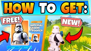 HOW TO GET STORMTROOPER SKIN for FREE in Fortnite! Imperial Star Wars Skin in Battle Royale!