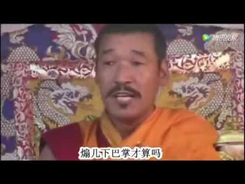 Dorje shugden high lama. In Tibet 100000 people,  just one side ,2017