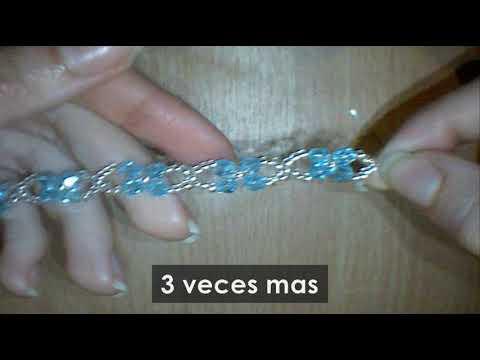 be0b6dcea923 Bisuteria pulsera paso a paso - YouTube