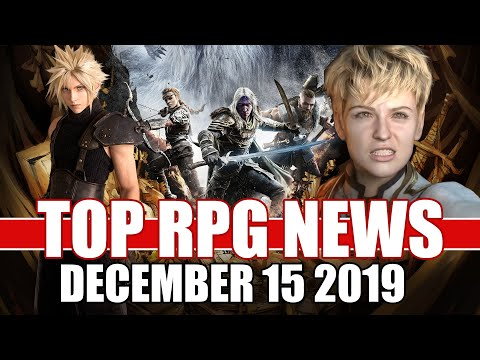 Top RPG News Of The Week - Dec 15, 2019 (Final Fantasy VII Remake, Dark Alliance, Magic Legends)