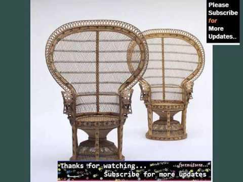 Wicker Basket Chair Wicker Furniture Ideas Youtube