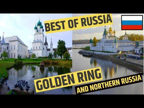 RUSSIA GOLDEN RING - SIX DAY HIGHLIGHTS incl REMOTE NORTHERN RUSSIA - тур по золотому кольцу россия