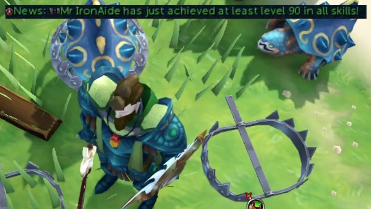 RuneScape 3: Ironman Episode 245 - 90+ all skills