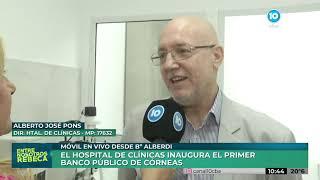 El Hospital de Clínicas inaugura el primer Banco Público de Córneas