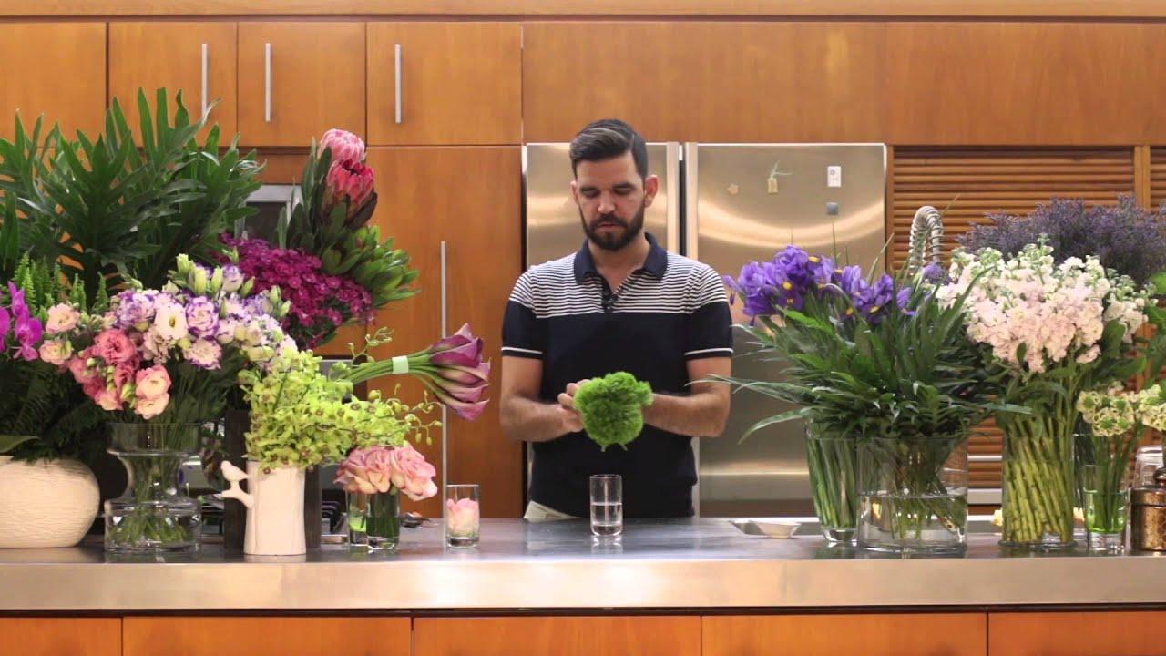 La casa con flores episodio 2 centro de mesa para el for Centros de mesa para casa