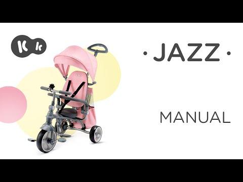 KinderKraft Триколка Jazz 4в1 Розова #uMDkFrvif3E
