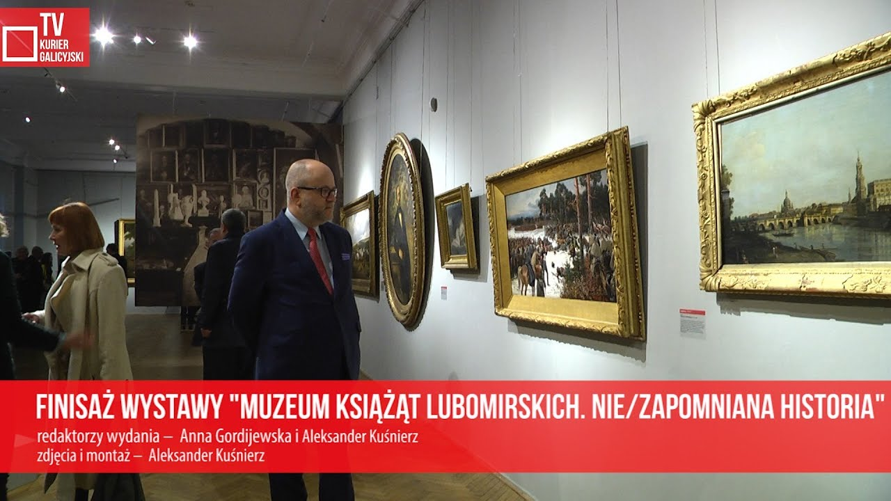 """Finisaż wystawy """"Muzeum Książąt Lubomirskich. Nie/zapomniana historia"""""""