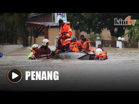 Penang floods: Cars, homes severely damaged