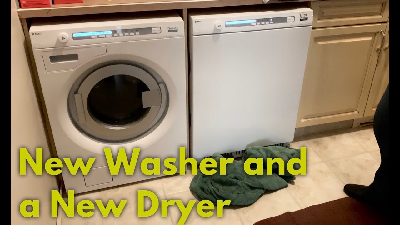 New Washer And Dryer New Washer And Dryer Install