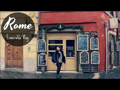 Esmeralda goes to Rome - Travel Vlog || Esmeralda