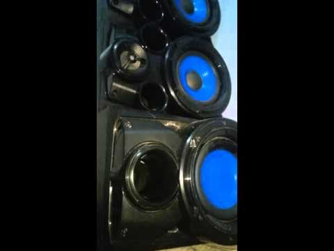 Mini System LG RAT376B 370w rms tocando EMPIRE - OTC no volume maximo!!!