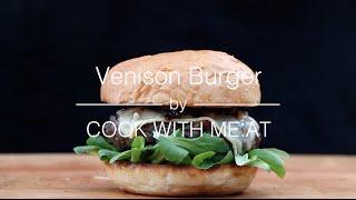 Venison Burger @deutsche Bbq Szene Bloggers Meeting 2015 - Cook With Me.at