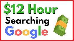 Make $12 Per Hour Searching Google {make money searching google}