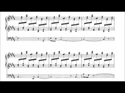 Dupré - Prelude and Fugue in B major op. 7 no. 1 (with score)