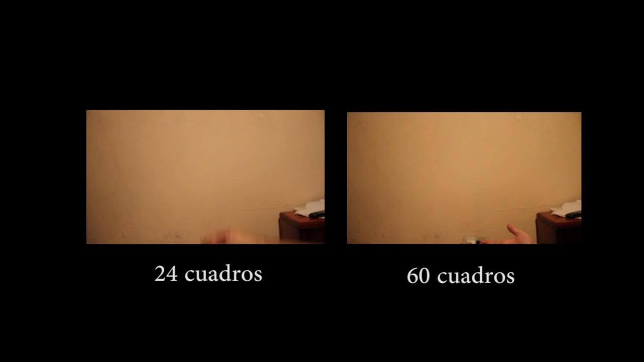 Prueba cámara lenta, 24 y 60 cuadros por segundo, Canon 7D. - YouTube