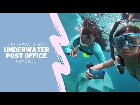 UNDERWATER POST OFFICE   VANUATU