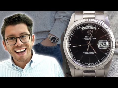 [VIDEO] - Fall Outfits & Vintage Watches - Uniqlo $200 Haul | Rolex Day Date, Rolex Bubbleback, Bulova 1
