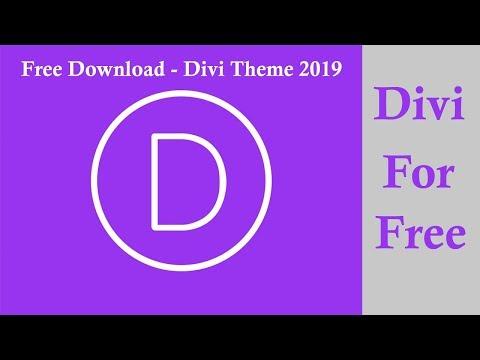 Divi Wordpress Theme Download Free 100% Working  ||