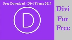 Divi WordPress Theme Download Free 100% Working  ||
