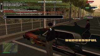 SAMP | Подарил бездомному машину