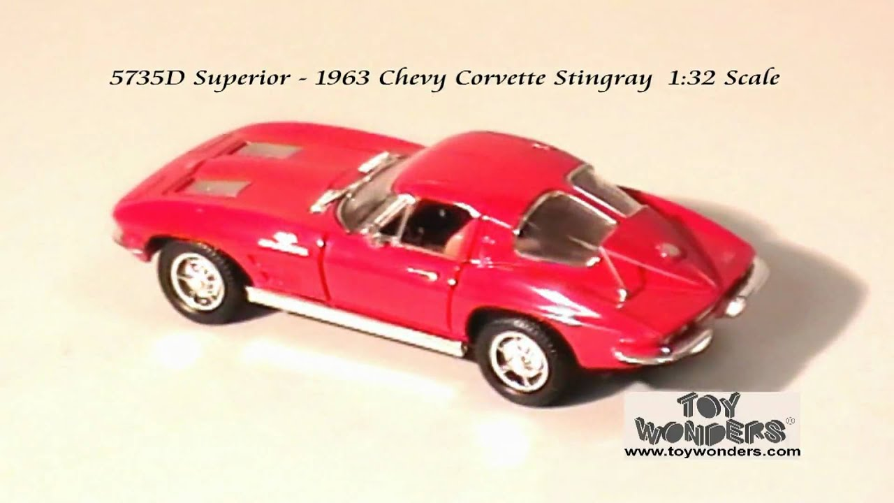 1963 chevy Corvette Stingray Hard Top by Superior 1/32 scale