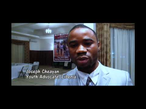Youth advocate speaks out about UN global development issues post 2015