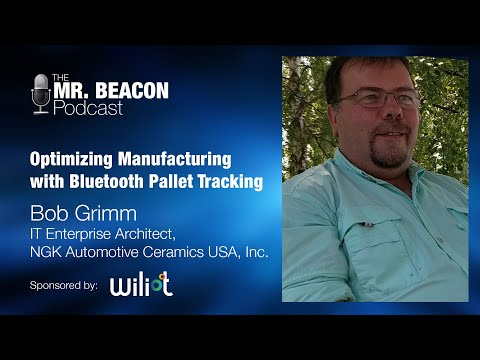 Optimizing Manufacturing With Bluetooth Pallet Tracking